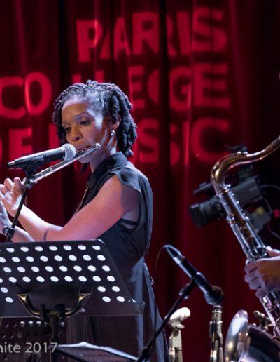 Celia Wa, flute, Rémy Vert-prés, sax, IMEP Paris