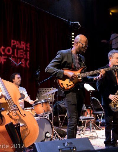 Peter Giron, tony Saba, Lionel Loueke, Rick Margitza IMEP Paris