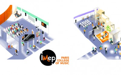l' IMEP Paris College of Music affiche sa nouvelle adresse