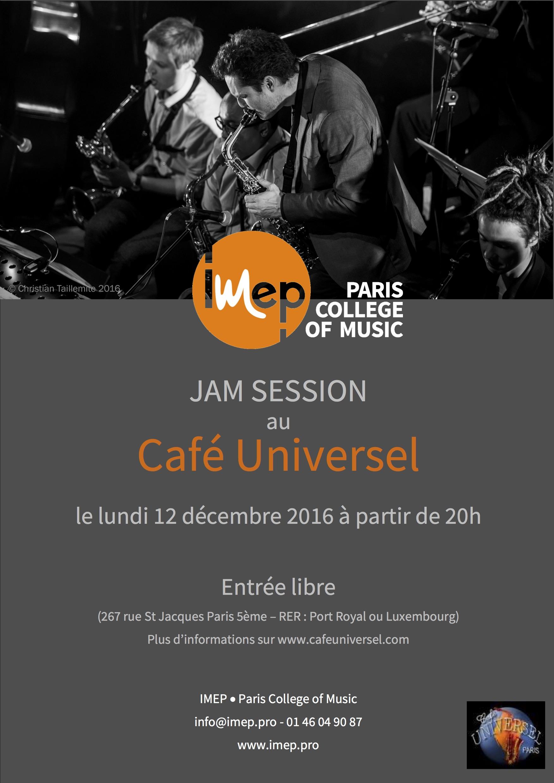 Le Caf Ef Bf Bd Universel Paris