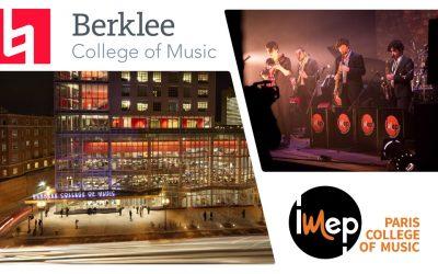 Semaine Berkleeà l'IMEP • Paris College of Music