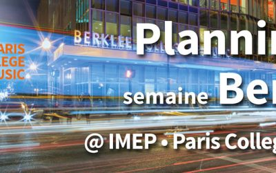 Évènements Berklee College of Music à L' IMEP Paris