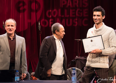 Camille Dupeyron Certificat IMEP Paris College of Music