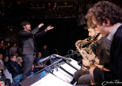Edgar Meunier direction Big Band IMEP Paris College of Music