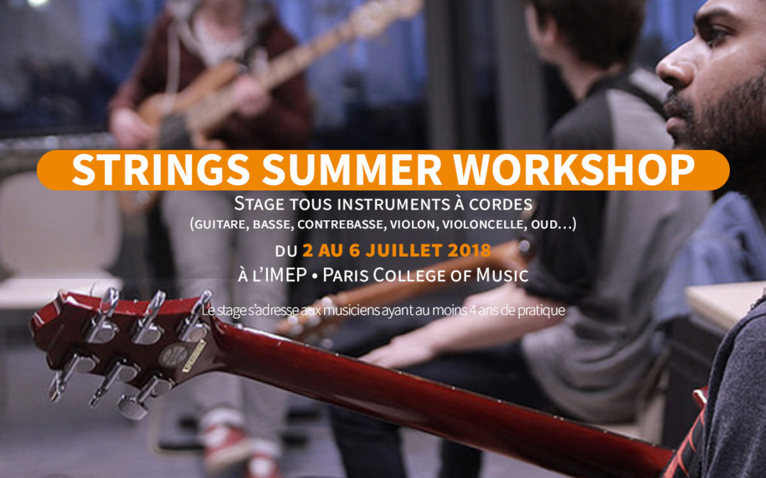 Stage Strings Summer Workshop