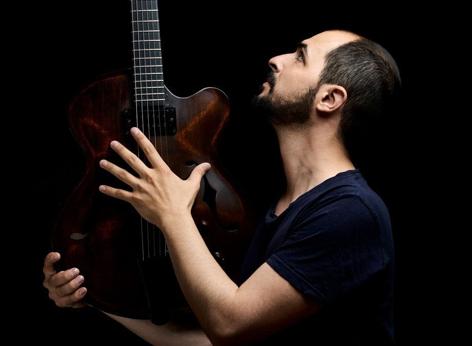 Romain Pilon professeur de guitare