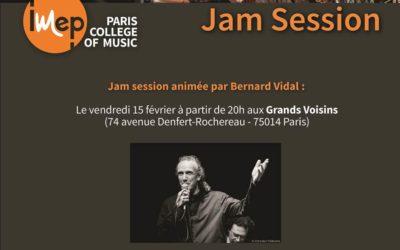 Jam session animée par Bernard Vidal
