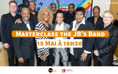 Masterclass The JB's Band 15 mai 2019