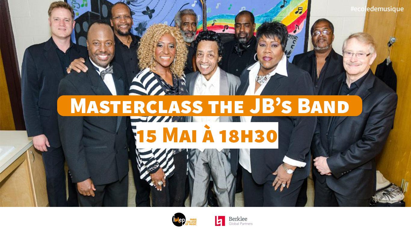 masterclass the Jb's Band