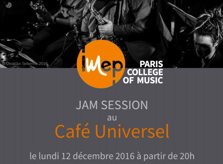 Jam session IMEP au Café Universel
