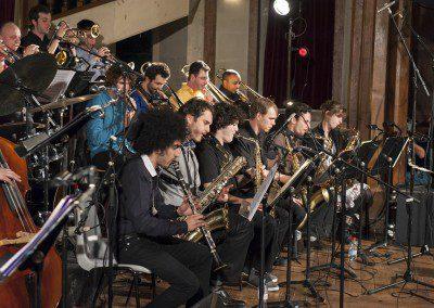 Concert du big band. Remise des diplômes de la promotion 2012