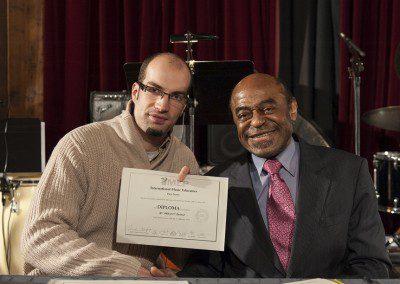 Raphael et Archie Shepp. promotion 2012