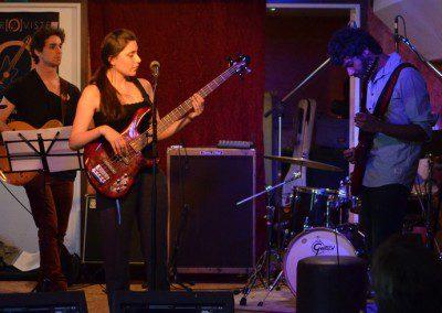 Concert ensemble du cycle libre à l'Improviste à Paris en juin 2014