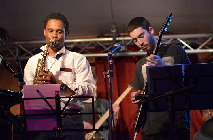 Concert ensemble du cycle libre à l'Improviste à Paris en juin 2015