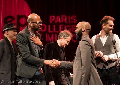 Diplome avec Lionel Loueke IMEP Paris