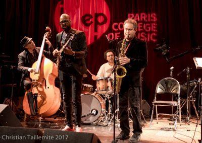 Ecole de Musique. Lionel Loueke et Rick Margitza au Studio del'Ermitage