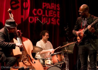 Lionel Loueke, Tony Saba, Peter Giron, IMEP Paris