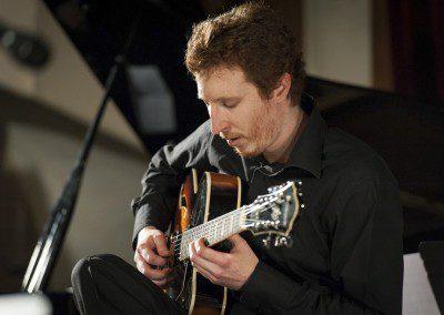 Nicolas Martin en concert à la remise des Diplômes. Promotion 2012