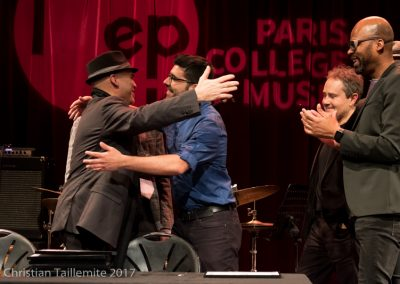 Peter Giron avec Alex sacleux IMEP Paris