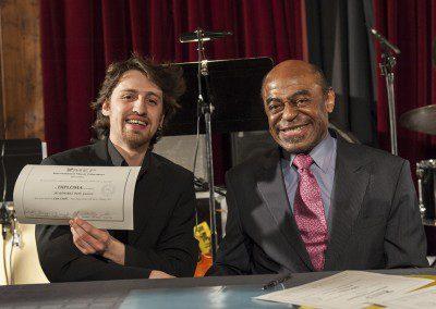 Pablo Ramirez et Archie Shepp. Promotion 2012