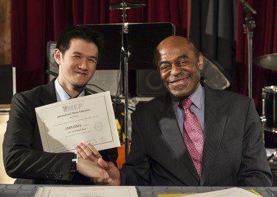 Rudy et Archie Shepp. Promotion 2012