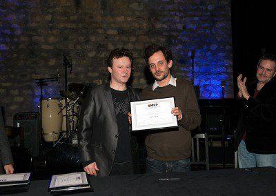 Promotion 2013 de l'IMEP avec Sylvain Luc