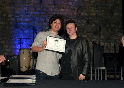 Leonardo Ceccarelli Promotion 2013 de l'IMEP avec Sylvain Luc