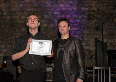 Noemy l'homme Promotion 2013 de l'IMEP avec Sylvain Luc