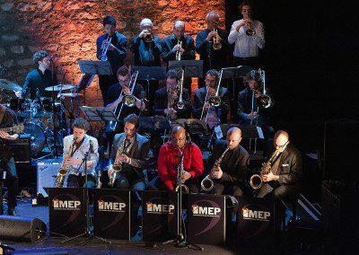 Le big band avec sylvain Luc dans la soirée remise des diplômes de la promotion 2013 de l'IMEP