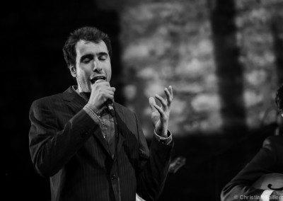 Agustin Ledieu, chanteur dans la remise des Diplômes IMEP Promotion 2014