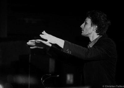 Clément Mollon dirige le big band de l'IMEP Remise des Diplômes IMEP | Promotion 2014