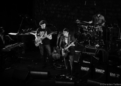 Le groupe du guitariste et chateur luxembourgeois, Stephane Colling au Café de la Danse