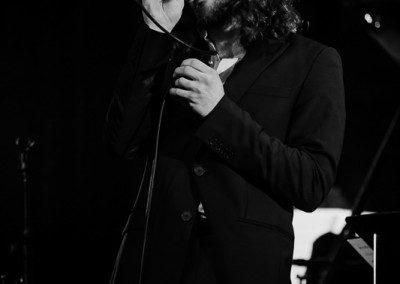 Pablo Lepetit chante dans la remise des diplômes de la promotion 2014