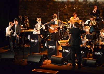 Arrangements des élèves de l'IMEP joué par le big band