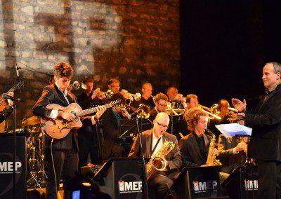 Le Big Band de l'MEP en concert au Café de la Danse dans le cadre de la Remise des Diplomes Promotion 2014