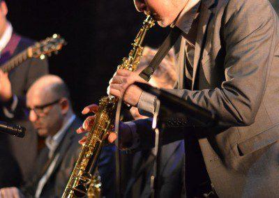 Le saxophoniste et professeur de l'IMEP Phil HilfikerRemise des Diplômes IMEP. Promotion 2014