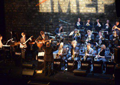 Le Big Band de l'IMEP dans le soirée de la remise des Diplômes de la promotion 2014