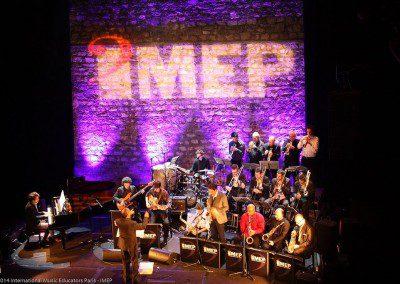 Big Band de l'IMEP en concert au Café de la Danse