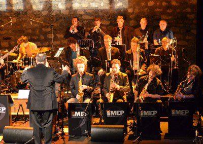 Le Big Band de l'IMEP dans le soirée de la remise des Diplômes de la promotion 2014 sous la direction de François Fichu