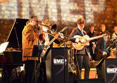 Glenn Ferris joue avec les élèves de l'IMEP et le Big Band au Café de la Danse