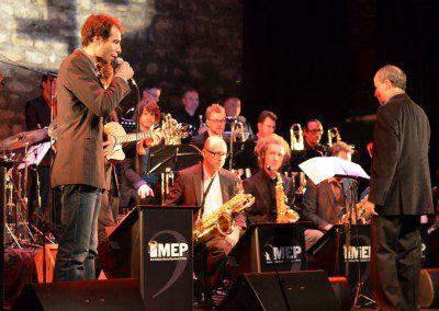 Agustin Ledieu accompagné par le Big Band de l'IMEP
