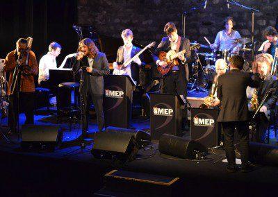 Glenn Ferris accompagne le Big Band de l'IMEP au Café de la Danse dans le cadre de la soirée remise des diplômes