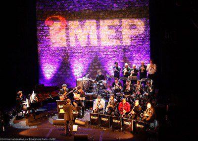 Le big band de l'IMEP. Remise des Diplômes IMEP | Promotion 2014