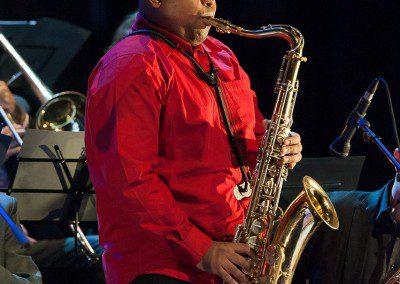 Saxophone tenor. Remise des Diplômes de la promotion 2014 de l'IMEP Paris College of Music