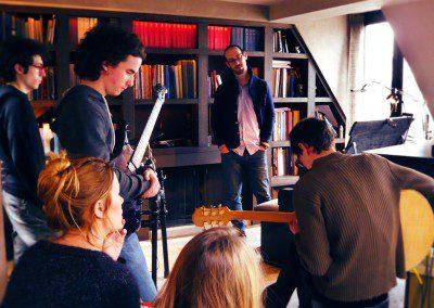 Yaron Herman en masterclass avec l'ensemble de jazz de l'IMEP