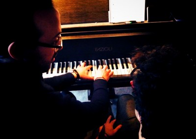 Yaron Herman en masterclass avec Lorenzo Liuzzi