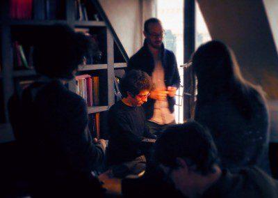 Yaron Herman avec les pianistes de l'IMEP