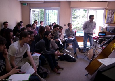 #imep #Paris College of Music #Master Classe Steve Browman7