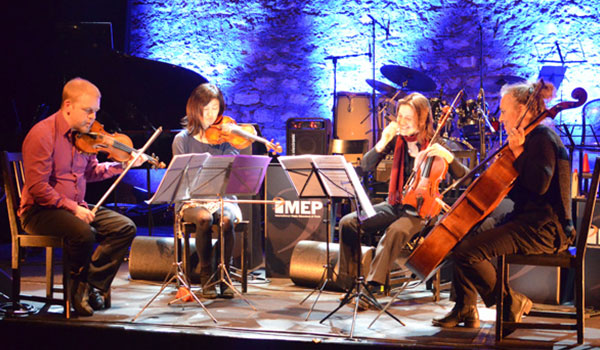 IMEP Paris college of Music, string quartet, Diploma ceremony
