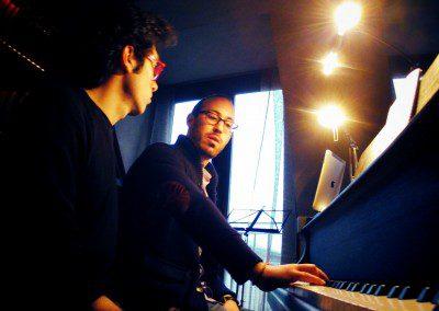 Echange entre Yaron Herman et Lorenzo Liuzzi